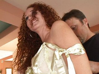 Frizzled redhead MILF screwed