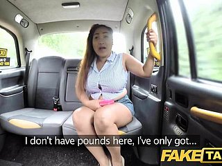 Fake Taxi-cub Thai masseuse with chubby tits mill say no to smashing
