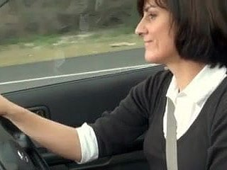 torrid mom plugged automobile more masturbate
