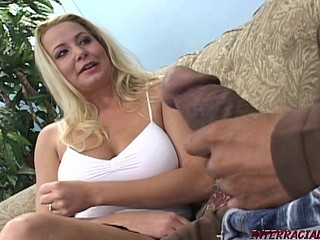 Fair-haired wife cheats be worthwhile for immense black cock be advisable for Blackzilla