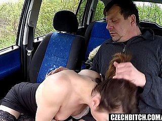 Lovely Whore Gets Fucked in Railway carriage